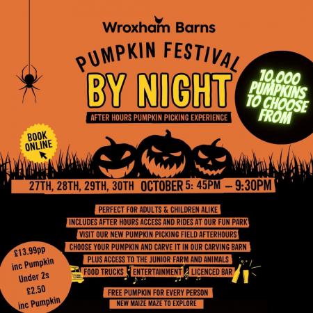 Pumpkin Festival BY NIGHT